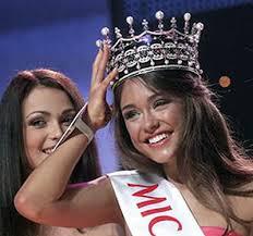 Beauty contest winner